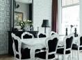 imagen Comedores en madera y blanco: estilo y sencillez