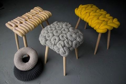Crochet en los muebles y accesorios 7