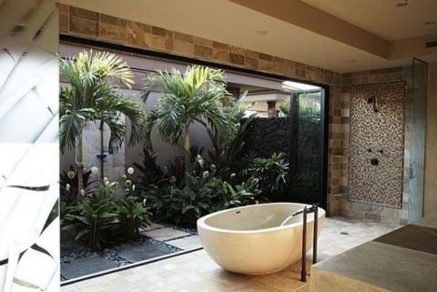 Baños de estilo tropical-04