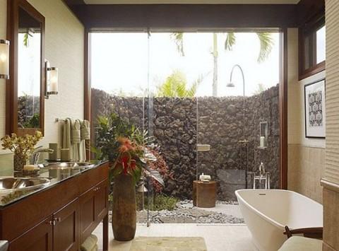 Baños de estilo tropical-05