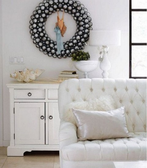 Ideas para decorar con objetos blancos03