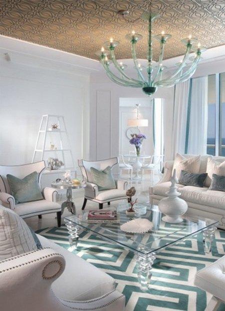 Ideas para decorar con objetos blancos07