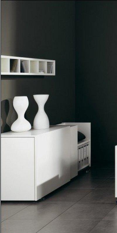 Ideas para decorar con objetos blancos08