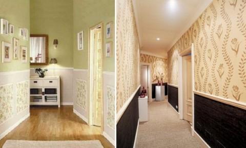 A decorar los pasillos for Plafones pared originales
