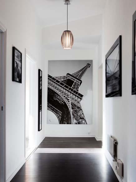 El in genio de las l mparas c mo iluminar el pasillo - Decoracion de pasillos de casas ...