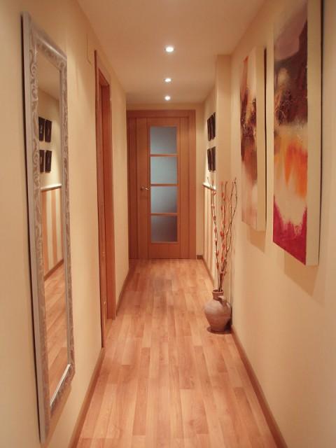 A decorar los pasillos - Como pintar puertas de sapeli ...