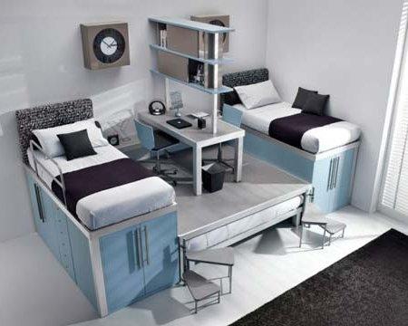 consejos para aprovechar el espacio en dormitorios