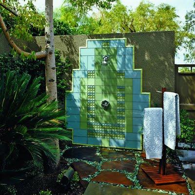 Ideas para duchas al aire libre - Duchas exterior ...