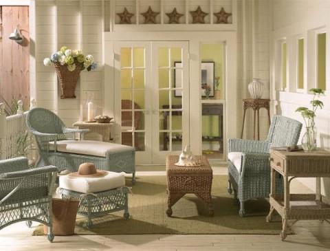 El estilo decorativo para una cabaña 01