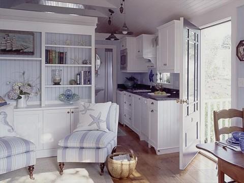 El estilo decorativo para una cabaña 03