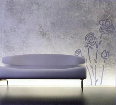 Pinta las paredes con esponja - Tecnicas para pintar paredes interiores ...