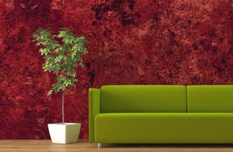 Pinta las paredes con esponja - Paredes pintadas de dos colores ...