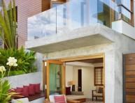 imagen Una casa con estilo tropical en Malibú