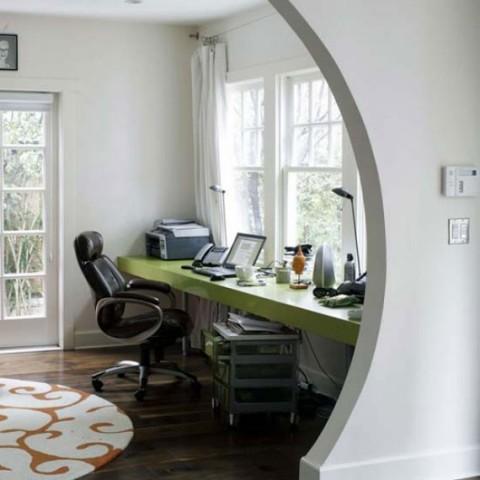 Verde pistacho para una oficina en casa03