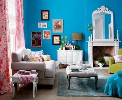 El estilo vintage para tu sal n - Decoracion de salones estilo vintage ...