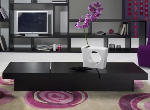 Mesas de centro minimalistas for Articulos de decoracion minimalista