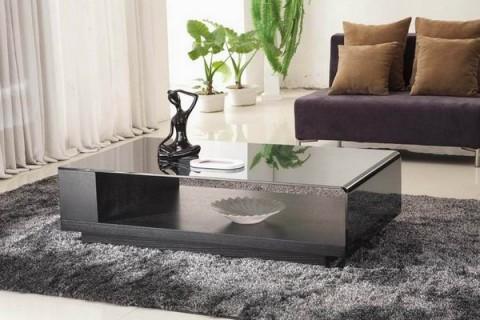 Mesas de centro minimalistas - Decorar mesas de salon modernas ...