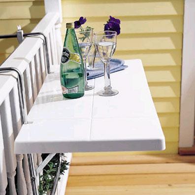 Ideas de mesas plegables para terrazas peque as - Mesa para terraza ...