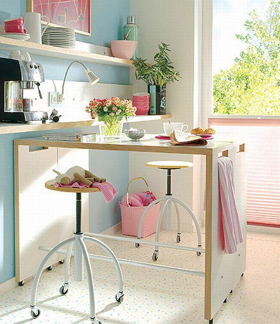 Cocinas peque as para espacios reducidos for Zapateras para espacios pequenos