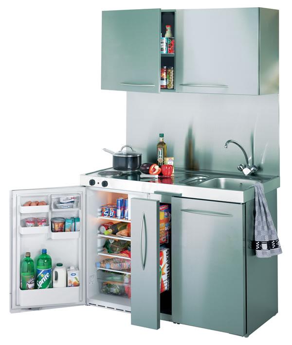 Mini cocinas para espacios pequenos 07 gu a para decorar for Cocinas para espacios pequenos