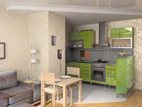 Mini cocinas para espacios pequenos 08 gu a para decorar for Cocinas para espacios pequenos