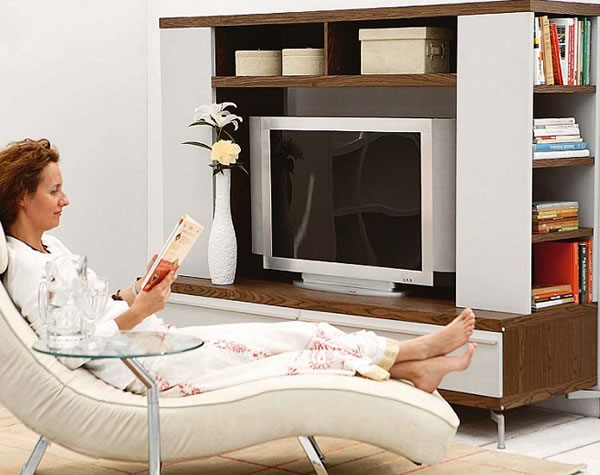 Ideas para colocar la tv - Muebles tv originales ...
