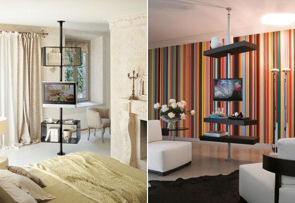 Ideas para colocar la tv for Como colocar los muebles del salon