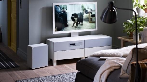 Ideas para colocar la tv - Muebles television ikea ...