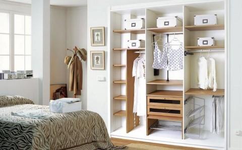 C mo organizar el armario - Organizar armarios ropa ...