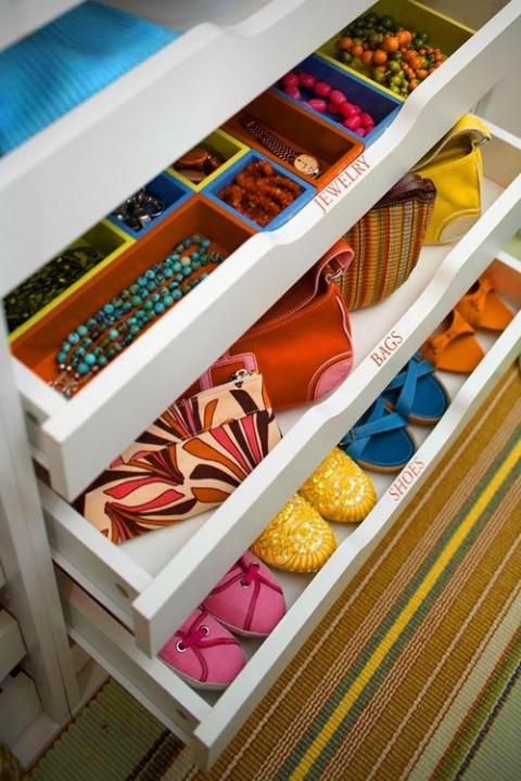Cómo organizar el armario 06