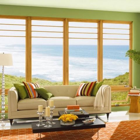 Pinta los marcos de puertas y ventanas for Pintar ventanas de madera exterior