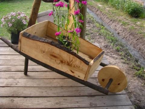 Propuestas de objetos r stico para el hogar for Como hacer un jardin rustico