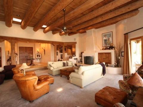 Propuestas de objetos r stico para el hogar - Fotos de salones rusticos ...