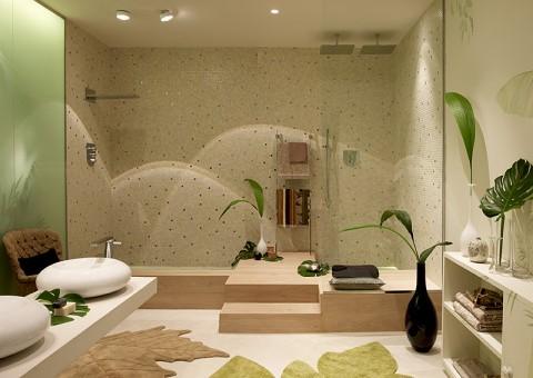Ba os con estilo spa para tu hogar for Como revestir un bano