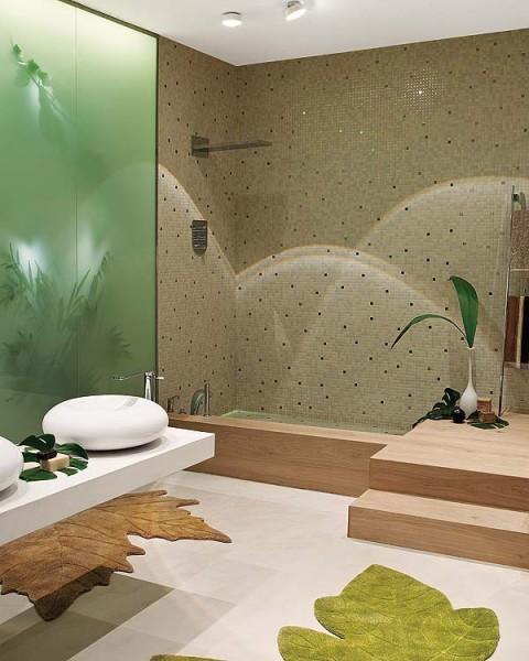Baño de inspiración natural 02