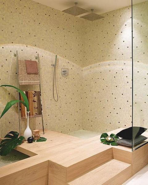 Baño de inspiración natural 04