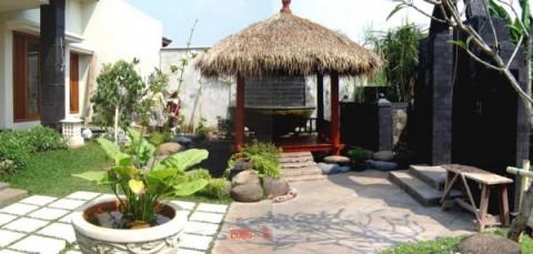 Un gazebo para el jard n for Casas diseno jardines tropicales