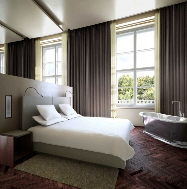 Puro diseño e historia de un hotel en Berlín-05