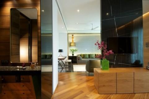 Decoración de lujo de una vivienda 01