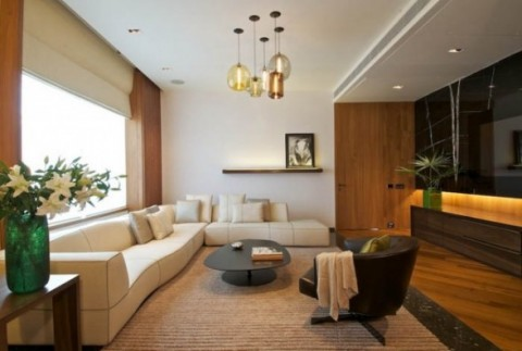 Decoración de lujo de una vivienda 04