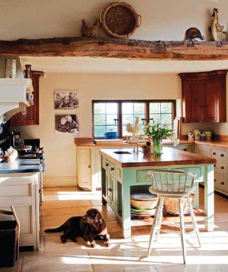 Una casa de campo de estilo ingl s for Casas rurales decoracion interior