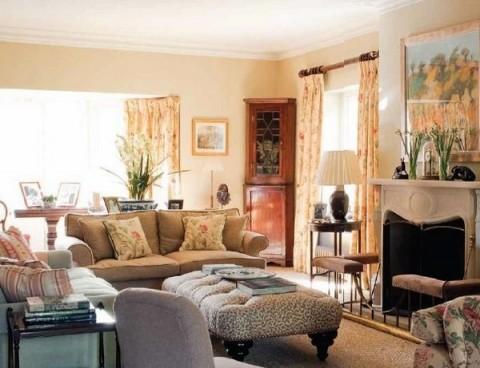 Una casa de campo de estilo ingl s for Sofa clasico ingles