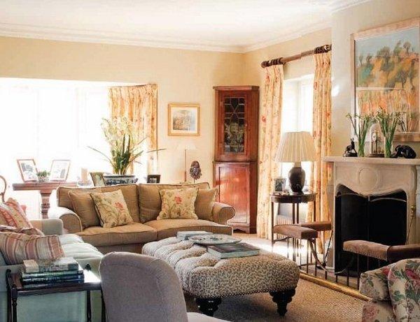 Una casa de campo de estilo ingl s - Estilo ingles decoracion interiores ...