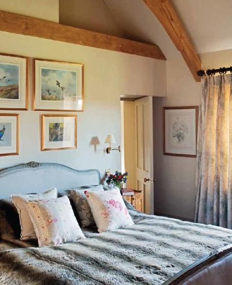 Una casa de campo de estilo ingl s - Casa y campo decoracion ...