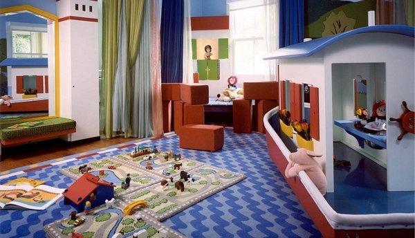 Espacios para juegos infantiles - Habitaciones de juego infantiles ...