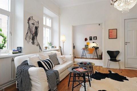 Apartamento escandinavo 1