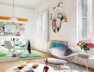 imagen Apartamento estilo funky: luz y color
