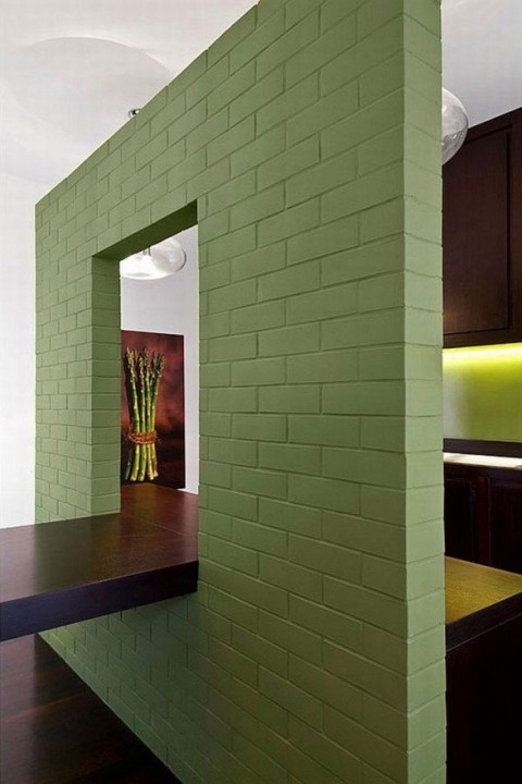 Reforma en color verde 3