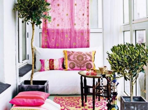 Romántica decoración en blanco y rosa 4