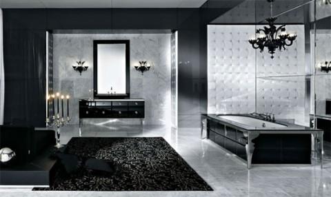 Baños en color negro 1